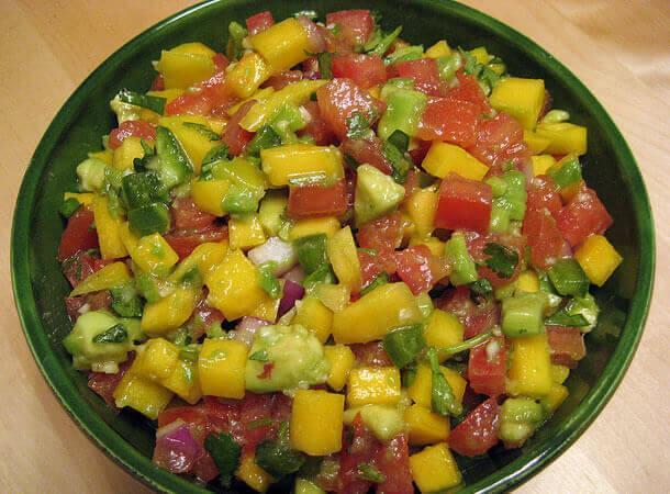 Avocado & Mango Salsa